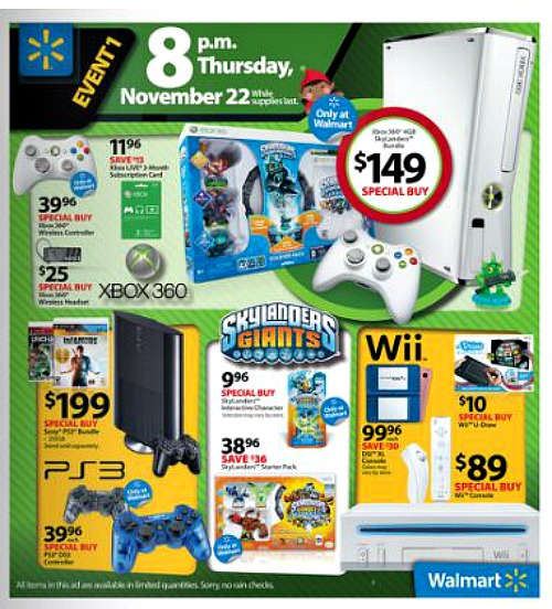 Nov 09,  · Walmart Black Friday Sale: $12 Games There are over 30 games at Walmart with prices set for $12 for Black Friday. Many of them are last-gen games, but have backwards compatible support on Xbox One.