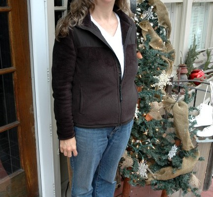 Women's Fleece Jacket from Walmart
