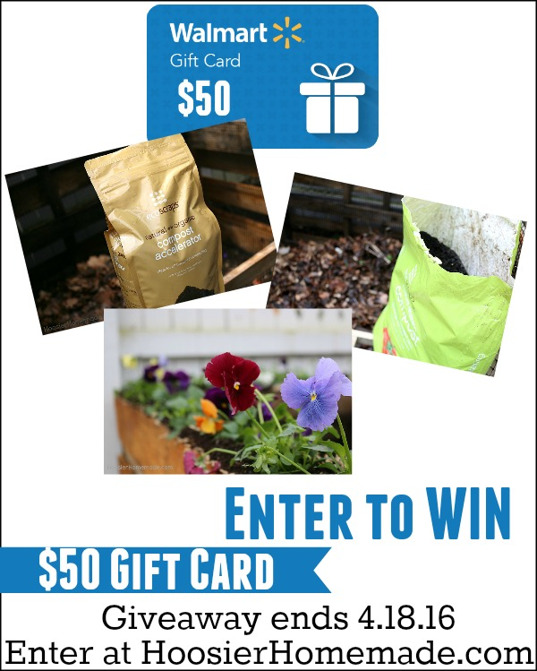 Enter to WIN a $50 Walmart Gift Card! Contest ends 4.18.16