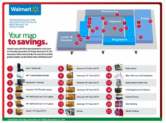 Walmart Black Friday Store Map Walmart Store Map   CYNDIIMENNA