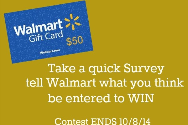 Walmart Gift Card Giveaway on HoosierHomemade.com