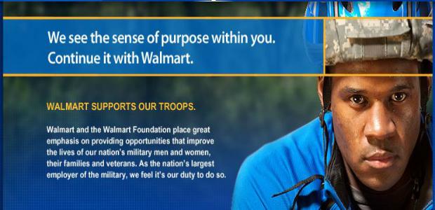 Walmart Veterans
