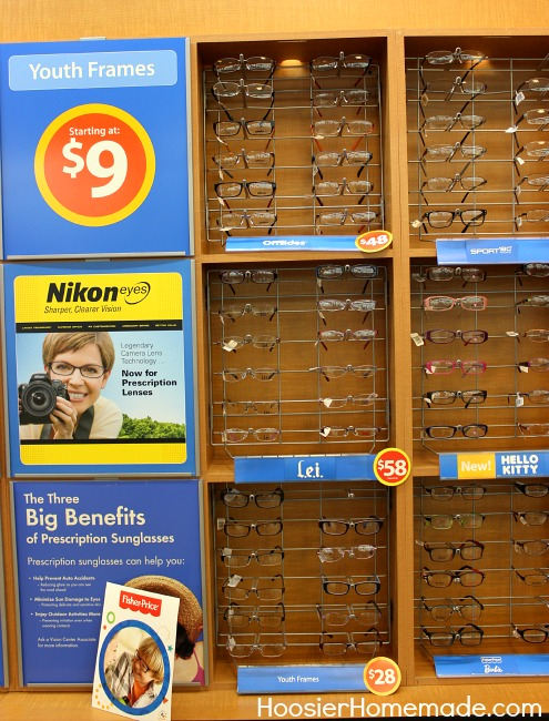 Optical Values from Walmart Vision Center - Hoosier Homemade