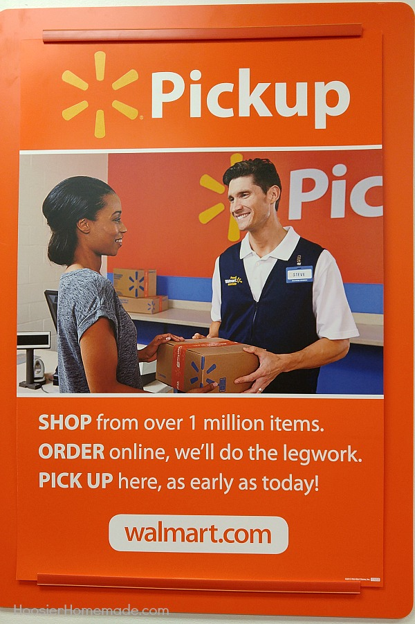 how to pick up order at walmart