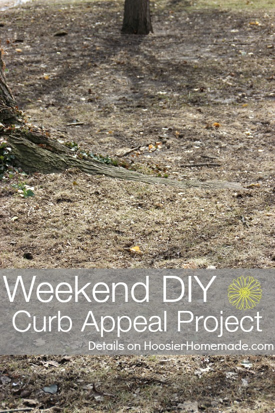 Weekend DIY Curb Appeal Project | Details on HoosierHomemade.com