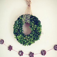 DIY Cinnamon Garland: 100 Days of Homemade Holiday Inspiration on HoosierHomemade.com