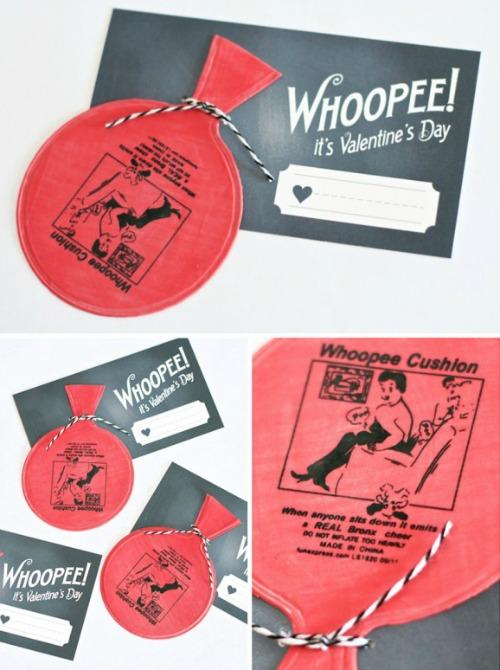 Whoopee Printable Valentine