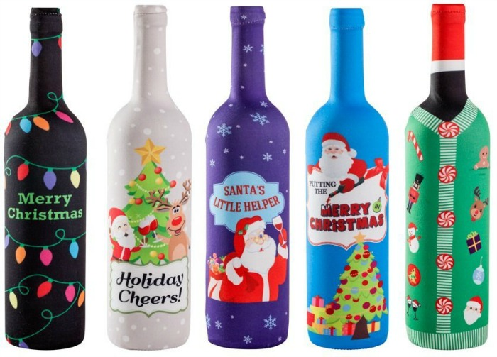 Wine Bottle Holiday Covers