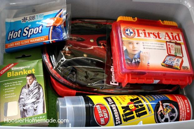 Winter Emergency Car Kit