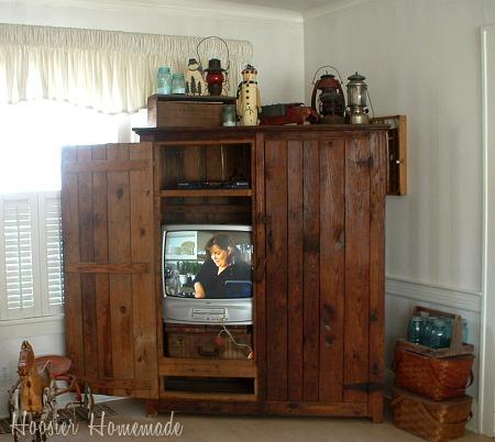 decorating your home for winter hoosier homemade. Black Bedroom Furniture Sets. Home Design Ideas