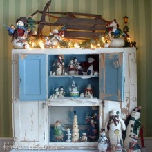 Winter Hoosier Cabinet