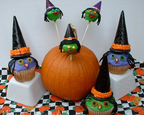Witch Cupcakes.1