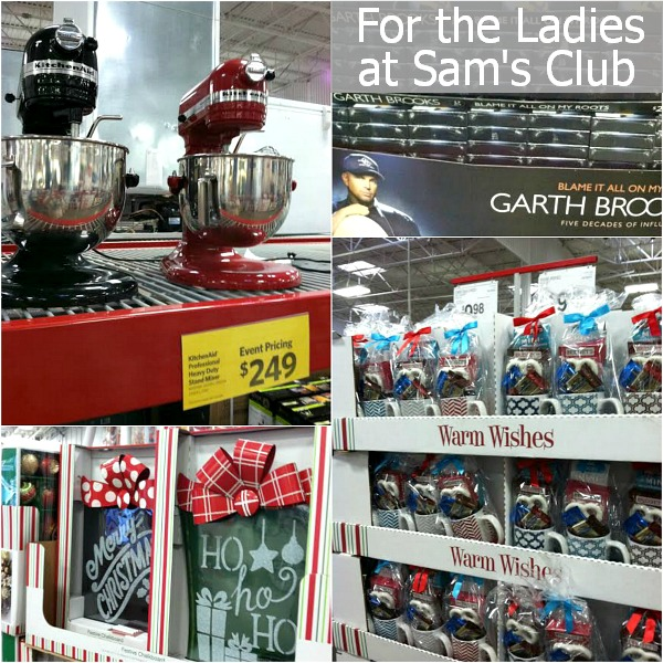 Ladies Christmas Shopping at Sam's Club | HoosierHomemade.com