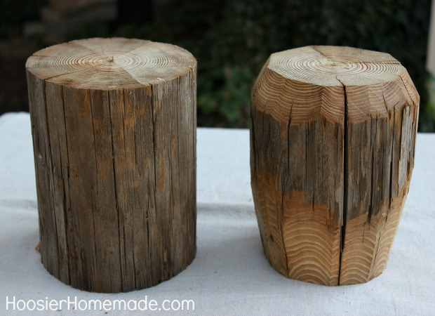 How to Make a Wooden Apple :: Full Instructions on HoosierHomemade.com