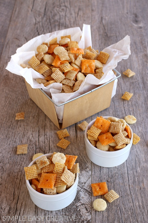 Zesty Ranch Chex Mix