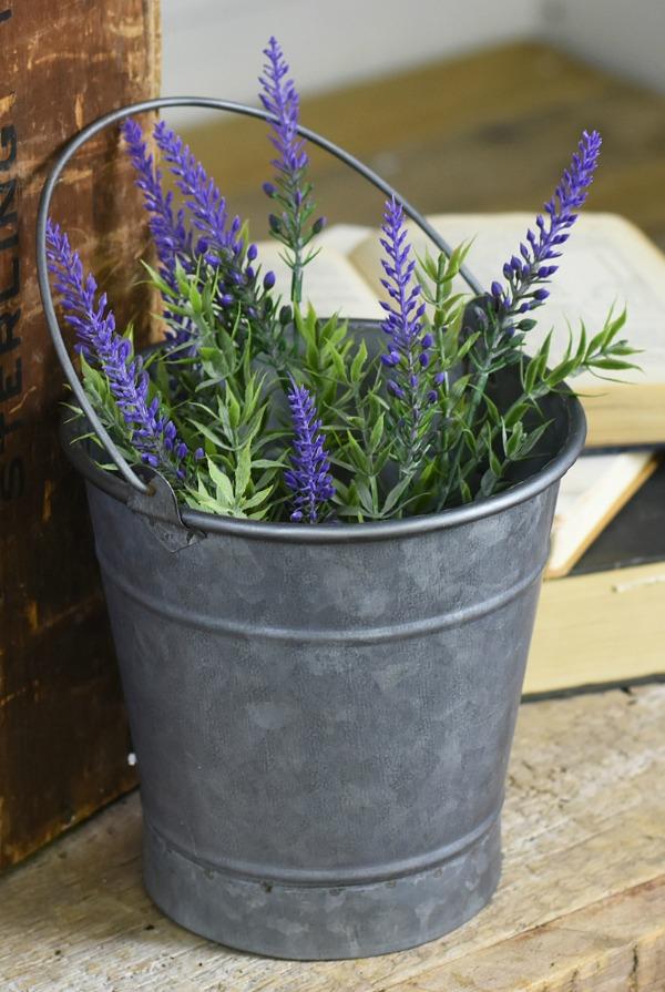 Galvanized Bucket from Zulily