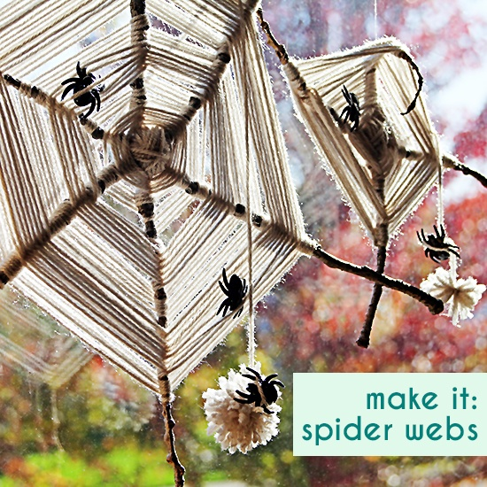 Yarn Spider Web