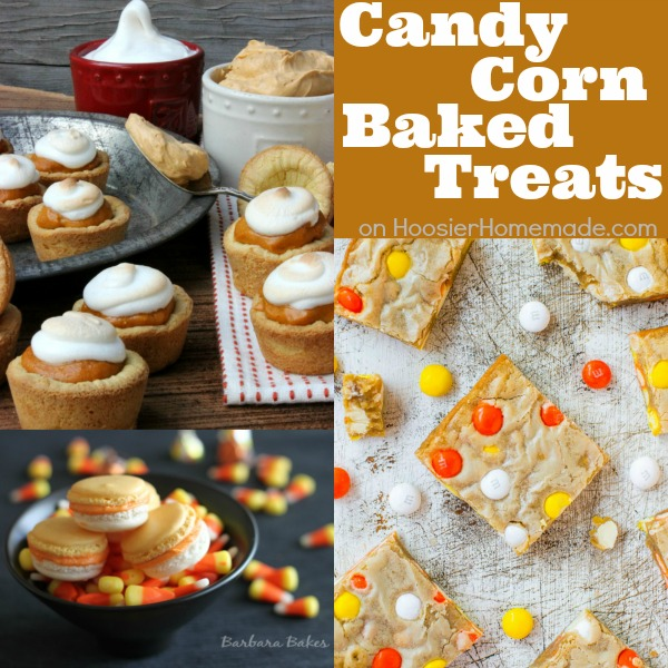 Candy Corn Baked Treats on HoosierHomemade.com