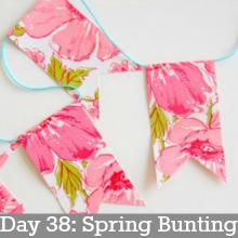 bunting-Day 38