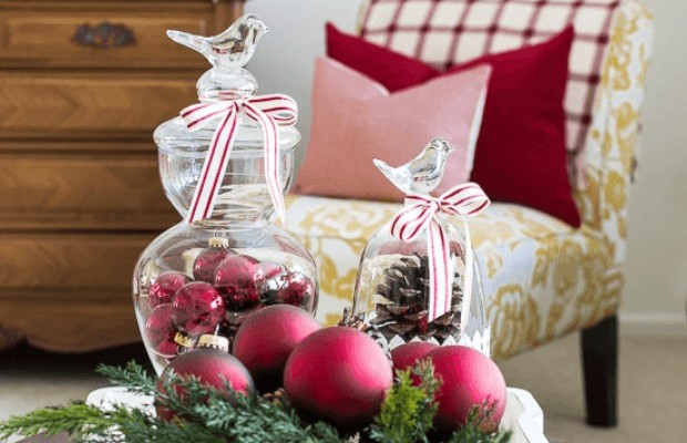 Christmas Decorations For Tables Homemade Holiday Inspiration