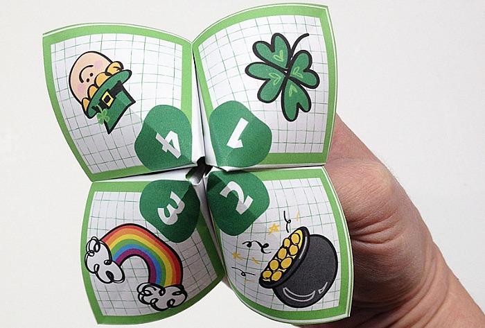 Paper Fortune Teller for kids