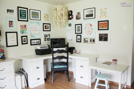 office desk ideas pinterest. Beautiful Desk This Desk Is Part Of An Amazing Craft Room Shared By Being Brook She Used  The Instructions From Another Great Blog That New To Me Ana White Homemaker  Throughout Office Desk Ideas Pinterest E