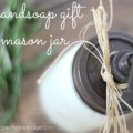 DIY Hand Soap Gift : 100 Days of Homemade Holiday Inspiration on HoosierHomemade.com
