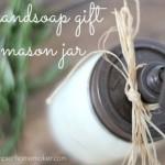 DIY Hand Soap Gift : 100 Days of Homemade Holiday Inspiration on HoosierHomemade.com