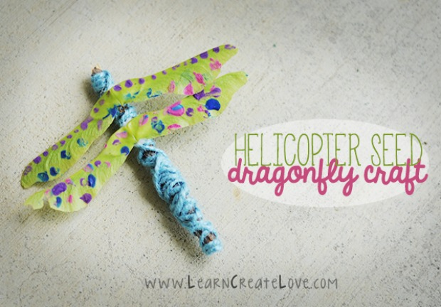 Dragonfly Helicopter Seed
