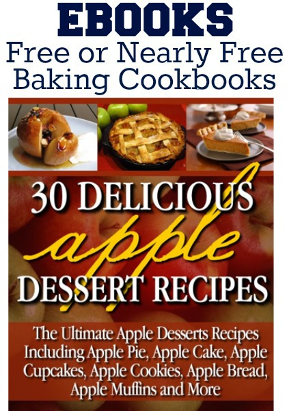 20+ Free or Nearly Free Baking eBooks :: Available on HoosierHomemade.com