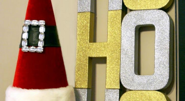 3D Christmas Sign: Holiday Inspiration