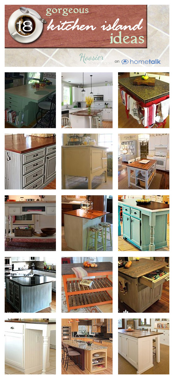 18 Kitchen Island Ideas