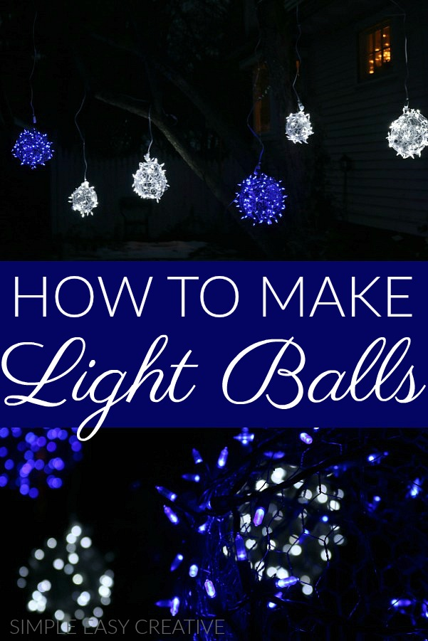How to make Light Balls