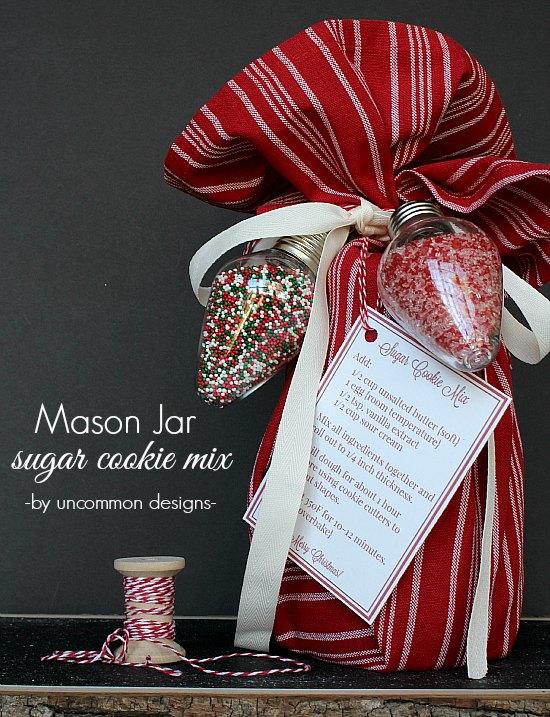 Simple Neighbor Gift- Sugar Cookie Kit