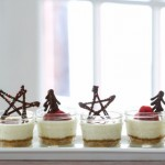 Mini Mason Jar Cheesecakes : 100 Days of Homemade Holiday Inspiration on HoosierHomemade.com