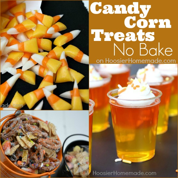 No Bake Candy Corn Treats on HoosierHomemade.com