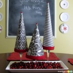 DIY Topiary Trees: 100 Days of Homemade Holiday Inspiration