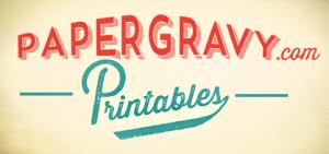 Papergravy Printables Etsy Shop