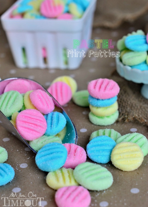 These easy to make Pastel Mint Patties are perfect for your Spring parties, bridal or baby showers, birthday parties and more! With just 6 ingredients, you can make this special treat! Be sure to save the recipe by pinning to your Recipe Board!