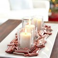 Peppermint Candy with Candles