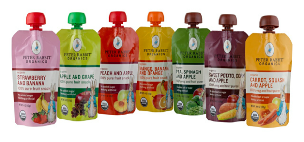 Peter Rabbit Organics Flavors