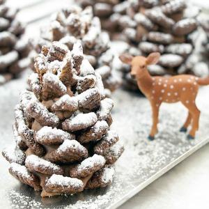 Chocolate Pinecone Treats :: HoosierHomemade.com