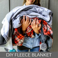 DIY Fleece Blanket