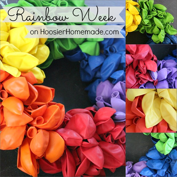 Rainbow Week on HoosierHomemade.com