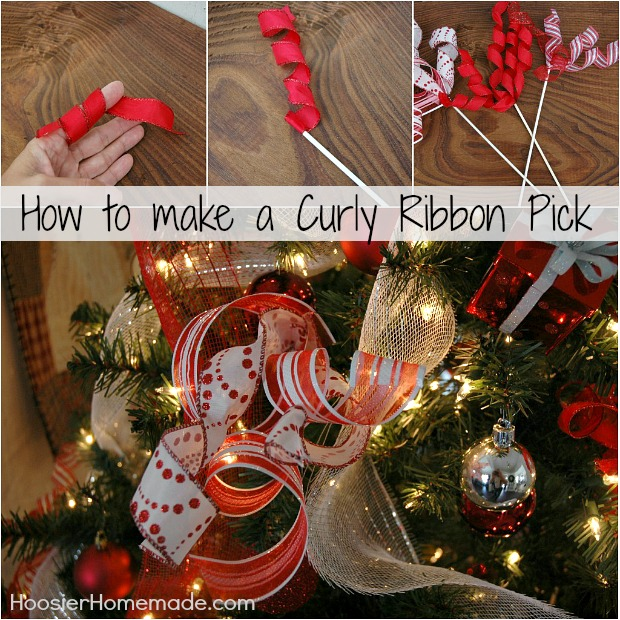 how to make tulle curl
