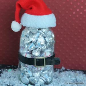 Santa Jar Gift :: HoosierHomemade.com