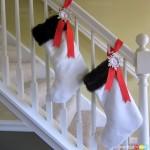 Slipcover Your Christmas Stocking : 100 Days of Homemade Holiday Inspiration