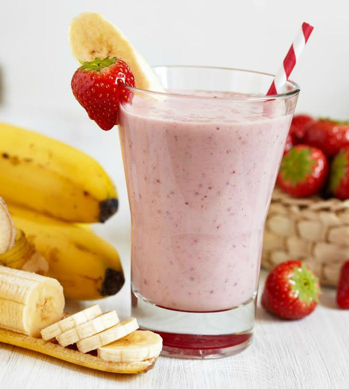 Strawberry Smoothie Mix to accompany your fitness diet