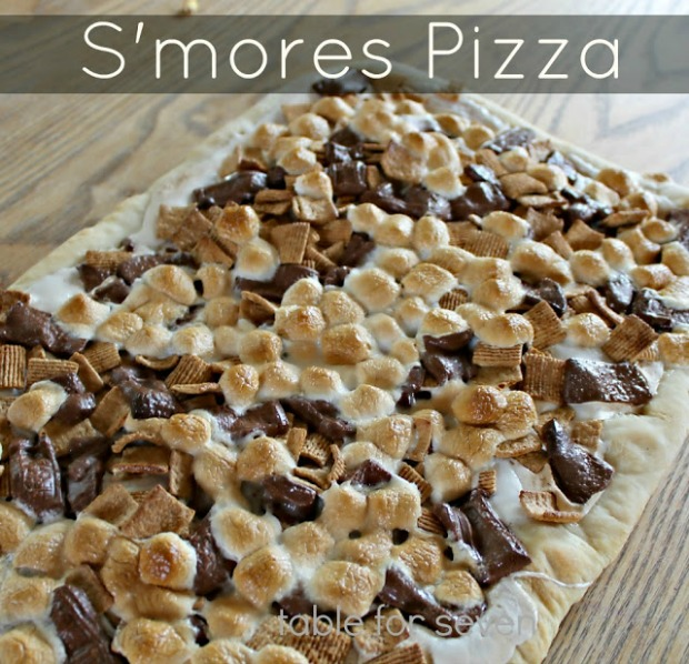 S'mores-pizza