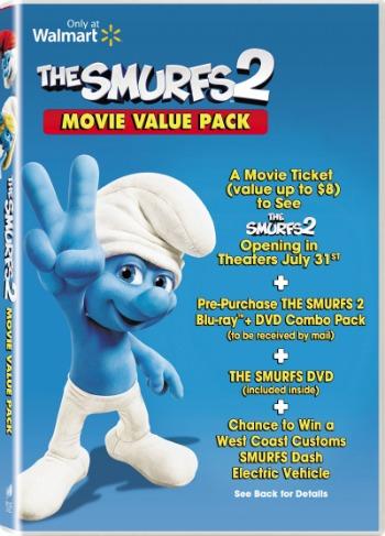 Smurfs 2 Movie Pack at Walmart